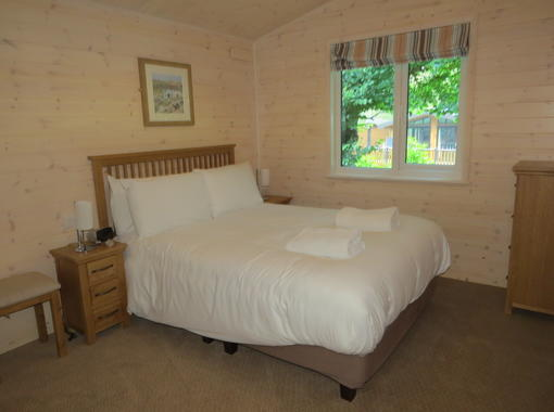 Comfortable and accessible double bedroom