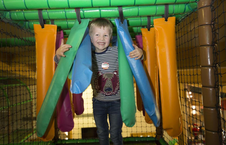 Little boy playing in Little Monkeys
