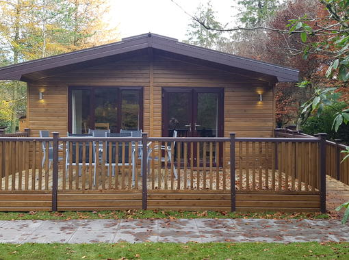 Haddon Classic Vogue accessible lodge with ramped access