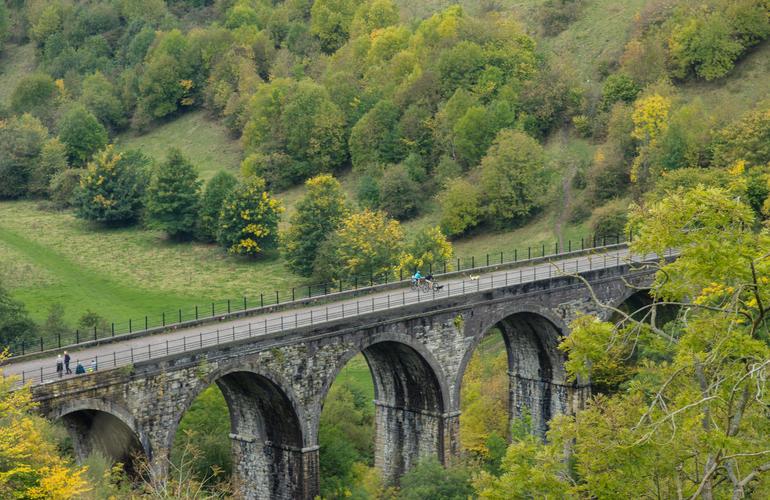 Viaduct bridge on the monsal trail