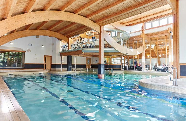 Swiming pool in the health & fitness centre
