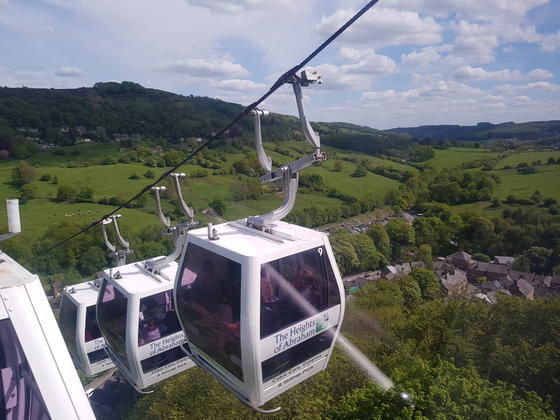 Cable Cars at Matlock Bath
